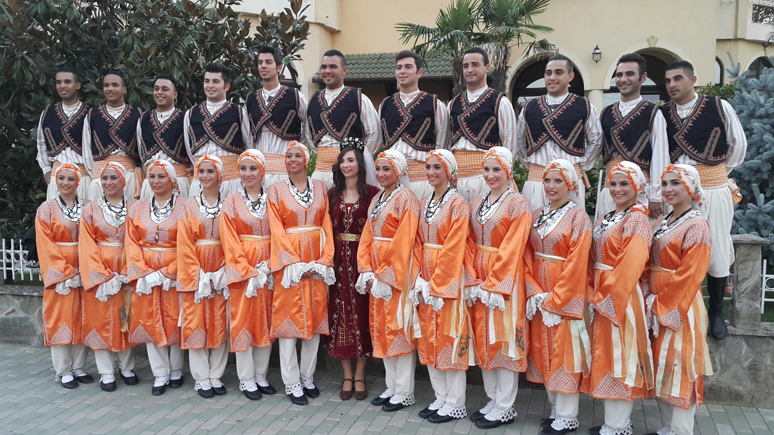 Cyprus - Iskele municipality folk dance group